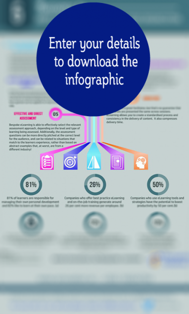 Get access to the FREE eLearning infographic now!