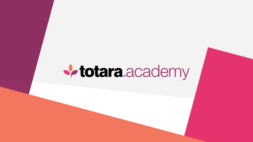 Totara Academy certifications training