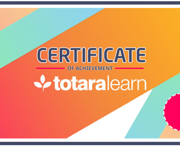 totara certification